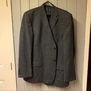 Austen reed navy blue suit jacket